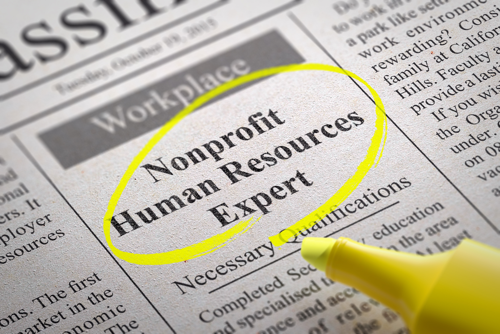 nonprofit recruiting tips