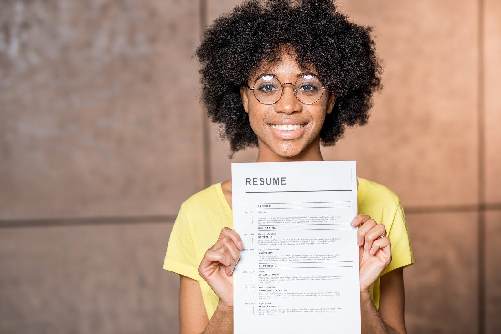 easy and creative ways to improve your resume
